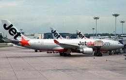 Nhiều chuyến bay của Jetstar Pacific phải đổi hướng, chậm chuyến do mưa lớn