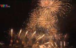 Mỹ và Italy vào chung kết lễ hội pháo hoa quốc tế Đà Nẵng