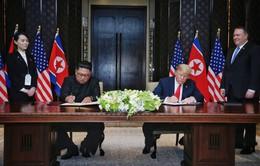 Cuộc gặp thượng đỉnh Mỹ - Triều Tiên: Ông Trump và ông Kim ký thỏa thuận lịch sử