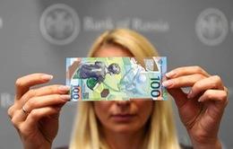 Cơn sốt World Cup khiến tờ tiền lưu niệm của Nga tăng giá 70%