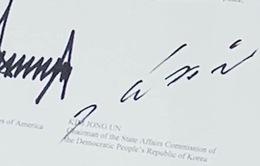 Phân tích chữ ký của Tổng thống Mỹ và nhà lãnh đạo Triều Tiên