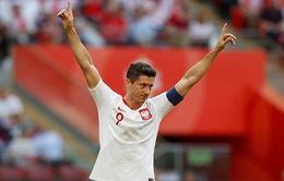 Giao hữu quốc tế: Ba Lan 4-0 Lít-va, Paraguay 2-4 Nhật Bản
