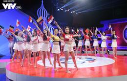 Hôm nay (14/6), 32 cô gái xinh đẹp của Nóng cùng World Cup 2018 chính thức ra mắt khán giả VTV