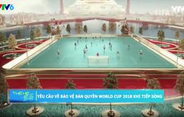 Yêu cầu bảo vệ bản quyền World Cup 2018 khi tiếp sóng