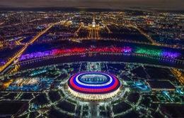 Danh sách chính thức 12 sân vận động tổ chức World Cup 2018