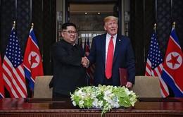 Tổng thống Mỹ hoan nghênh kết quả cuộc gặp thượng đỉnh với nhà lãnh đạo Triều Tiên