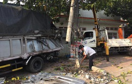 Ninh Thuận: Xe tải tông vào nhà dân, 4 người thương vong