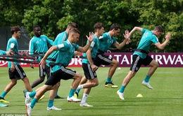 """ĐKVĐ Đức âm thầm tập """"hăng"""" ở FIFA World Cup 2018"""