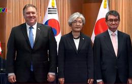 Mỹ - Nhật - Hàn hội đàm về kết quả Hội nghị thượng đỉnh Mỹ - Triều