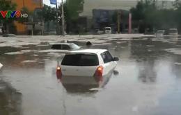 Mưa lớn và mưa đá tại nhiều khu vực ở Trung Quốc