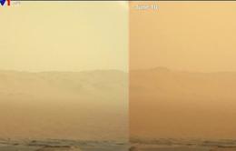 Bão khói bụi lớn đang diễn ra trên Sao Hỏa