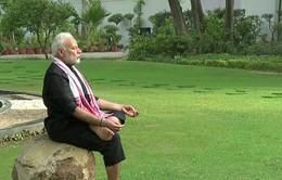 """Thủ tướng Modi đăng video """"thách thức thể lực giới chức Ấn Độ"""""""