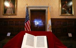 Bức thư bị đánh cắp của Christopher Columbus được trả về Vatican