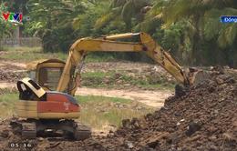 Đồng Tháp: Xử lý 3 trường hợp đào ao bán đất mặt