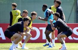 FIFA World Cup™ 2018: HLV Southgate vô tình tiết lộ đội hình ra sân trận đấu của ĐT Anh