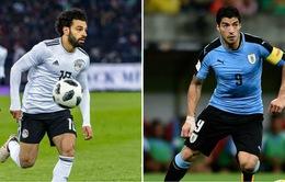 Bảng A FIFA World Cup™ 2018, Ai Cập - Uruguay: Khó khăn cho đại diện của châu Phi (19h00 ngày 15/6)