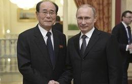 Tổng thống Putin mời nhà lãnh đạo Triều Tiên Kim Jong-un thăm Nga
