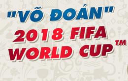 """Dự đoán đội chiến thắng trong trận Ai Cập - Uruguay cùng """"Võ đoán"""" 2018 FIFA World Cup™"""