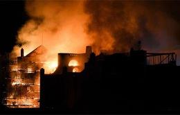 Anh: Cháy lớn tại Trường nghệ thuật Glasgow