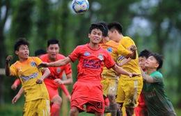 Xác định 8 đội lọt vào VCK giải bóng đá U17 Quốc gia 2018