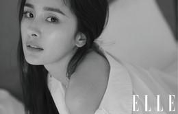 """Dương Mịch """"đốn tim"""" fan với vẻ đẹp mộc trên ELLE"""