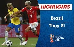 HIGHLIGHTS: Brazil 1-1 Thuỵ Sĩ (Bảng E FIFA World Cup™ 2018)
