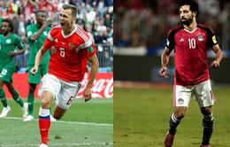 Lịch thi đấu và trực tiếp FIFA World Cup™ 2018 ngày 19, rạng sáng 20/6: ĐT Ai Cập quyết đấu chủ nhà Nga