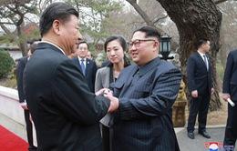 Mỹ phản ứng bất ngờ trước động thái ông Kim Jong-un thăm Trung Quốc