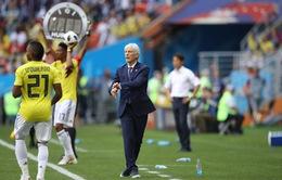 HLV ĐT Colombia đổ tại thua ĐT Nhật vì thiếu người