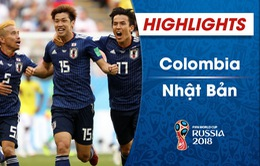 HIGHLIGHTS: ĐT Colombia 1–2 ĐT Nhật Bản (FIFA World Cup™ 2018)