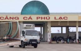 Tình trạng xe chở xăng dầu không an toàn tại cảng cá Phú Lạc