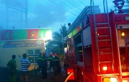 Cháy quán karaoke tại Bến Tre, 2 người bị thương