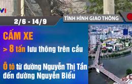 Từ ngày 2/6, cấm lưu thông trên một số tuyến đường quận 1 và 5, TP.HCM