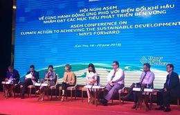 ASEM nhất trí tăng cường phối hợp hành động ứng phó biến đổi khí hậu