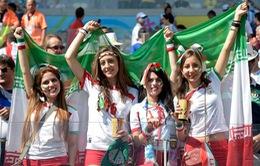 Nữ cổ động viên Iran có chiến thắng lịch sử tại FIFA World Cup™ 2018