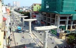 Tuyến metro Nhổn - Ga Hà Nội mới đạt 43% tiến độ
