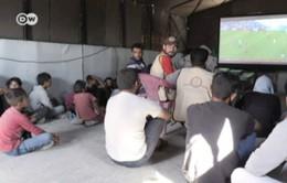 Mang World Cup 2018 tới người tị nạn