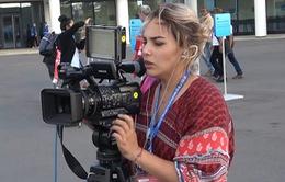 Phóng viên Thể Thao VTV tác nghiệp tại Nga: Chuyện tác nghiệp tại World Cup 2018