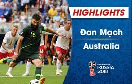 VIDEO HIGHLIGHTS: Đan Mạch 1-1 Australia (Bảng C FIFA World Cup™ 2018)