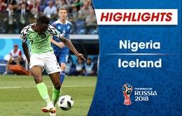 HIGHLIGHTS: Nigeria 2–0 Iceland (Bảng D  FIFA World Cup™ 2018)