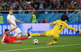Kết quả FIFA World Cup™ 2018, Serbia 1-2 Thuỵ Sĩ: Ngược dòng ngoạn mục