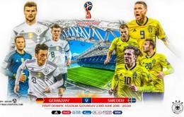 FIFA World Cup™ 2018, Đức – Thuỵ Điển: Khi chiến thắng là mệnh lệnh! (1h00 ngày 24/6 trên VTV3)