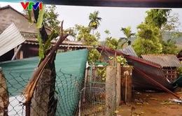 Lốc xoáy làm nhiều nhà dân, trụ sở cơ quan ở Ba Tơ, Quảng Ngãi tốc mái
