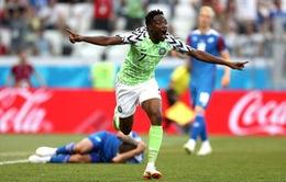 """Chấm điểm Nigeria 2-0 Iceland: Một mình Musa phá tan """"tảng băng"""" Iceland"""