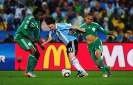 KỲ LẠ: 4 kỳ FIFA World Cup™ liên tiếp, Nigeria chung bảng với Argentina