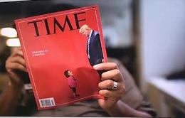 Em bé nhập cư khóc nức nở và Tổng thống Trump lên trang bìa tạp chí Time