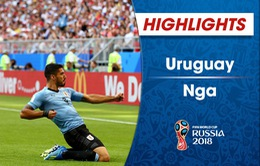HIGHLIGHTS: Uruguay 3-0 Nga (Bảng A FIFA World Cup™ 2018)