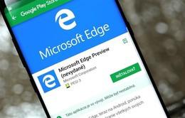 Microsoft Edge cán mốc 5 triệu lượt tải về trên Google Play