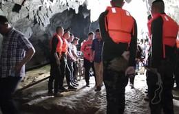 Thái Lan nỗ lực tìm kiếm 12 trẻ mất tích trong hang động