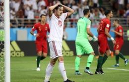 """Iran 1-1 Bồ Đào Nha: """"Nếu có công lý, chiến thắng phải thuộc về chúng tôi"""""""